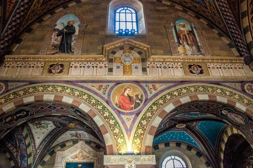 Inside view of San Colombano's Abbey - Bobbio, Province of Piacenza - Emilia-Romagna, Italy - rossiwrites.com