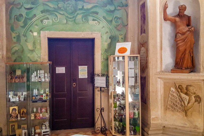 Monastic Shop of Basilica of Santa Giustina - Padua, Veneto, Italy - rossiwrites.com