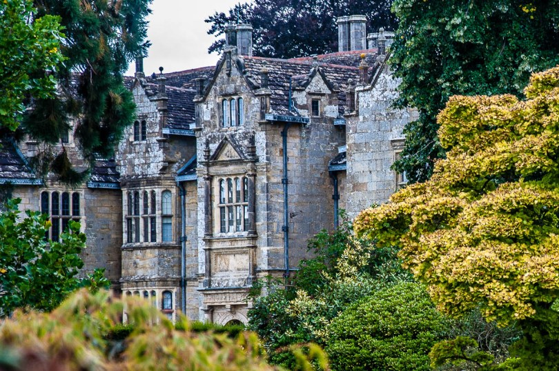 View of the Elizabethan Mansion - Wakehurst, West Sussex, England, UK - rossiwrites.com