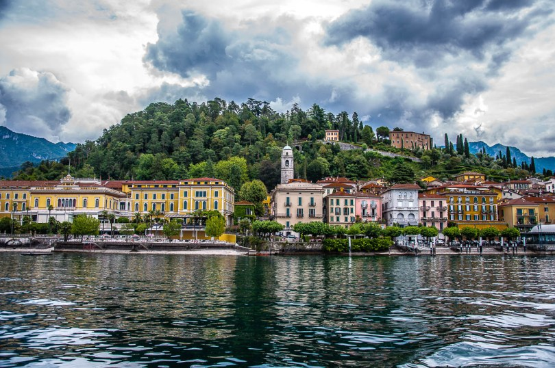 A view of Bellagio - Lake Como, Italy - rossiwrites.com