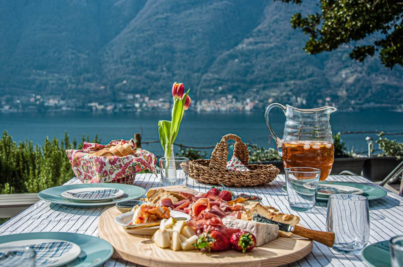 Lunch is served - Nesso - Lake Como, Italy - rossiwrites.com