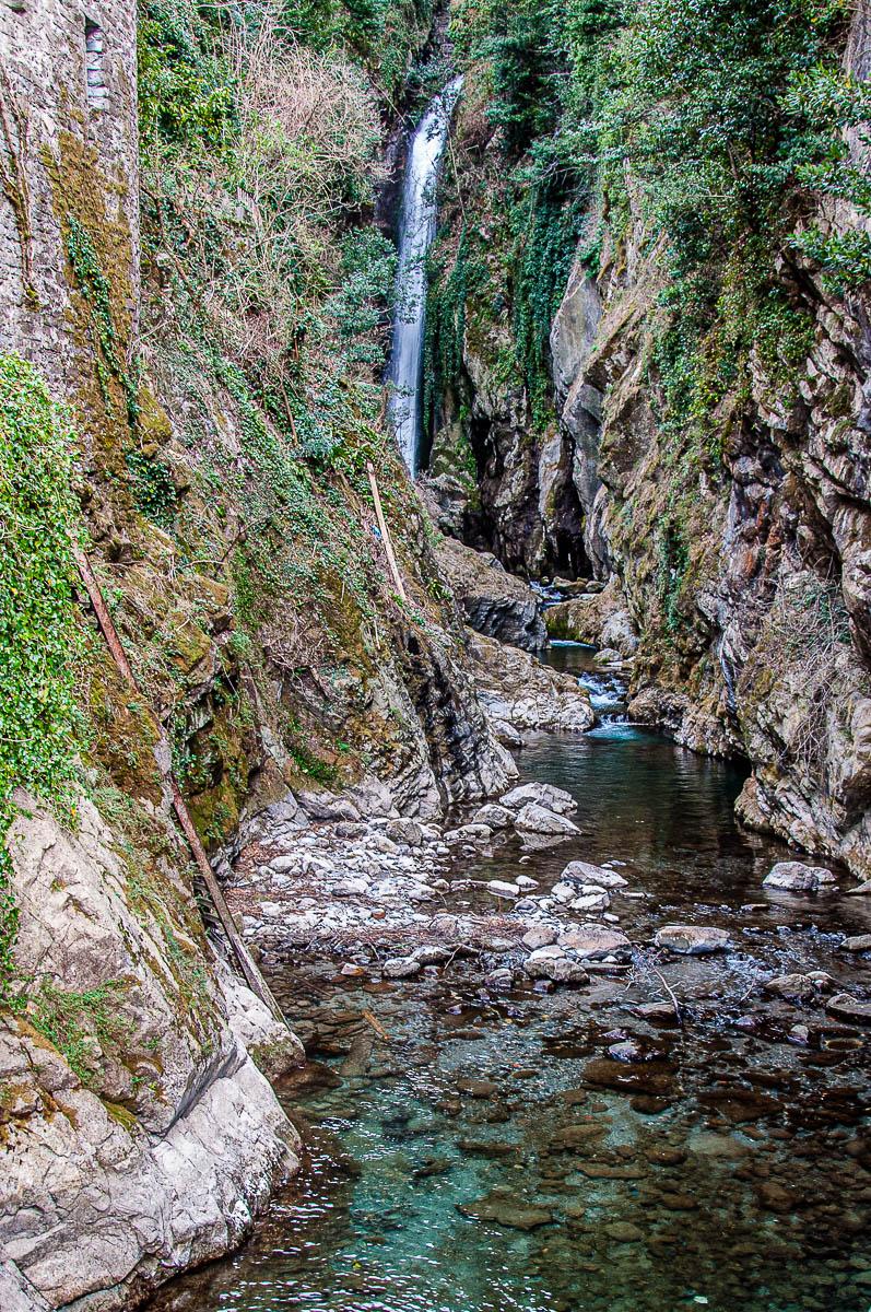 Orrido di Nesso seen from the Civera Bridge - Nesso - Lake Como, Italy - rossiwrites.com