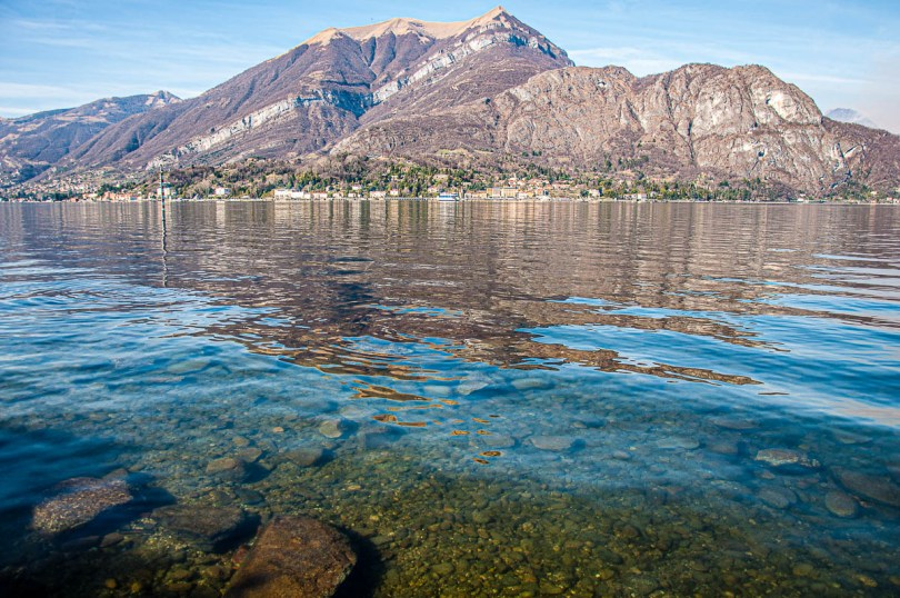 The lake seen across from Bellagio - Lake Como, Italy - rossiwrites.com