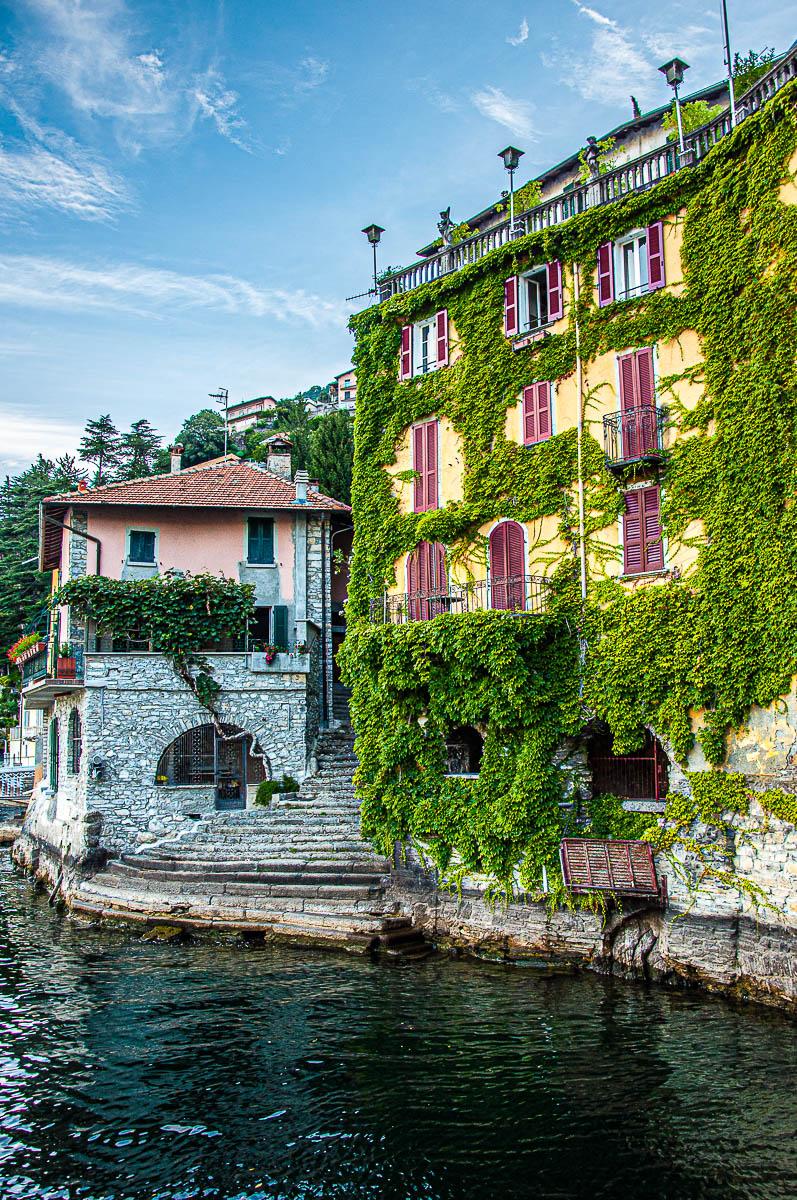 View from the Bridge Civera in Nesso - Lake Como, Italy - rossiwrites.com