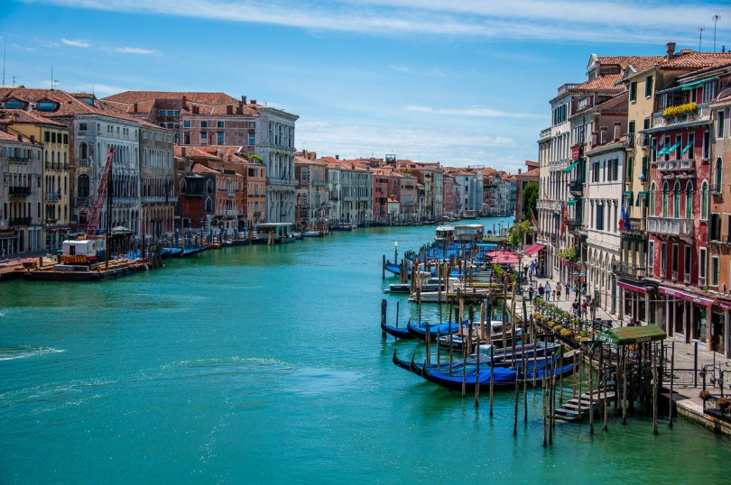 View of Grand Canal from Rialto Bridge - Venice, Veneto, Italy - rossiwrites.com