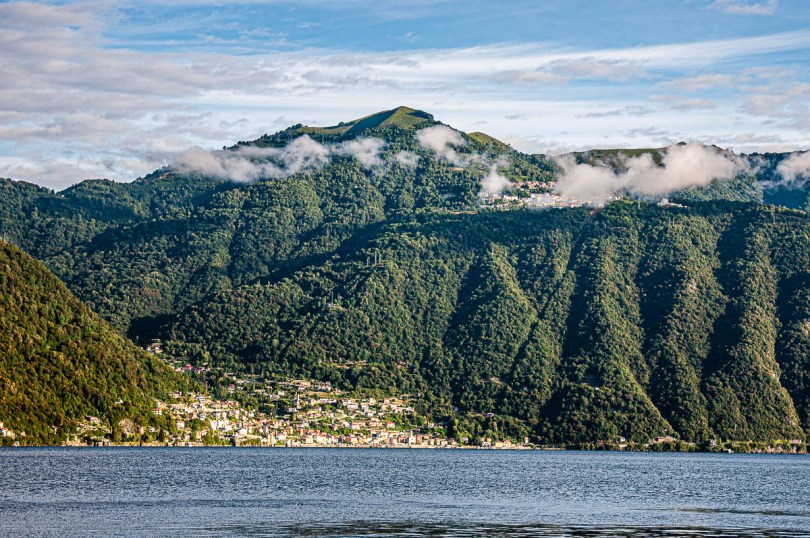 View from Nesso on Lake Como, Italy - rossiwrites.com
