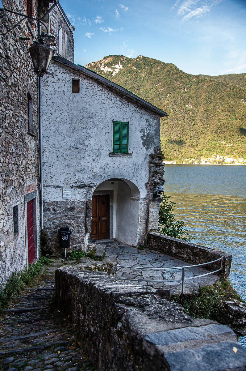 View of Nesso - Lake Como, Italy - rossiwrites.com