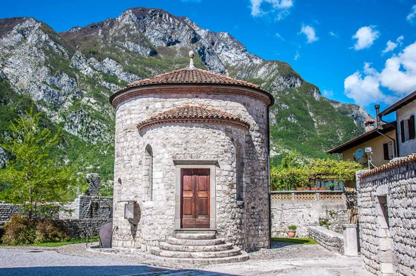 The Chapel of St. Michael - Venzone, Italy - rossiwrites.com