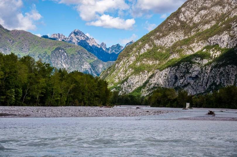 The River Tagliamento - Venzone, Italy - rossiwrites.com