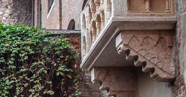 The balcony of Juliet's House - Verona, Italy - rossiwrites.com