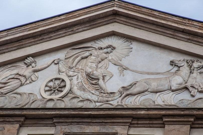 The facade of La Scala Opera Theatre - Milan, Italy - rossiwrites.com