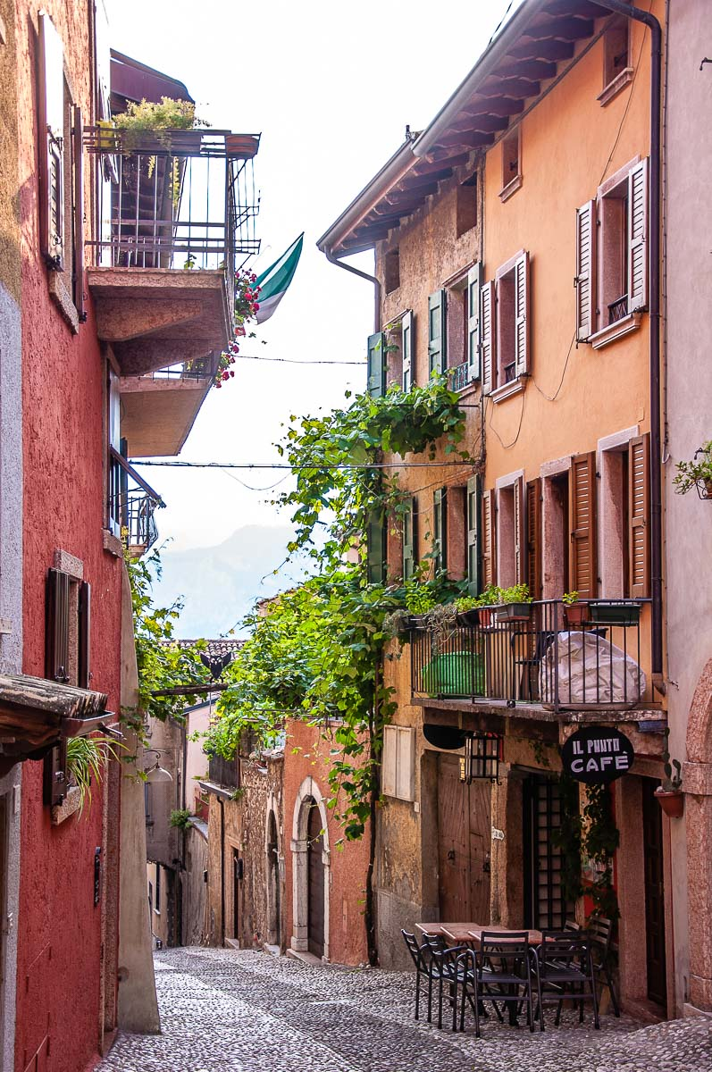 The historic centre - Malcesine, Italy - rossiwrites.com