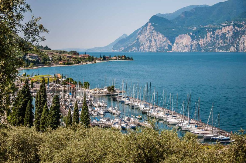 The sailing club Fraglia Vela on Lake Garda - Malcesine, Italy - rossiwrites.com
