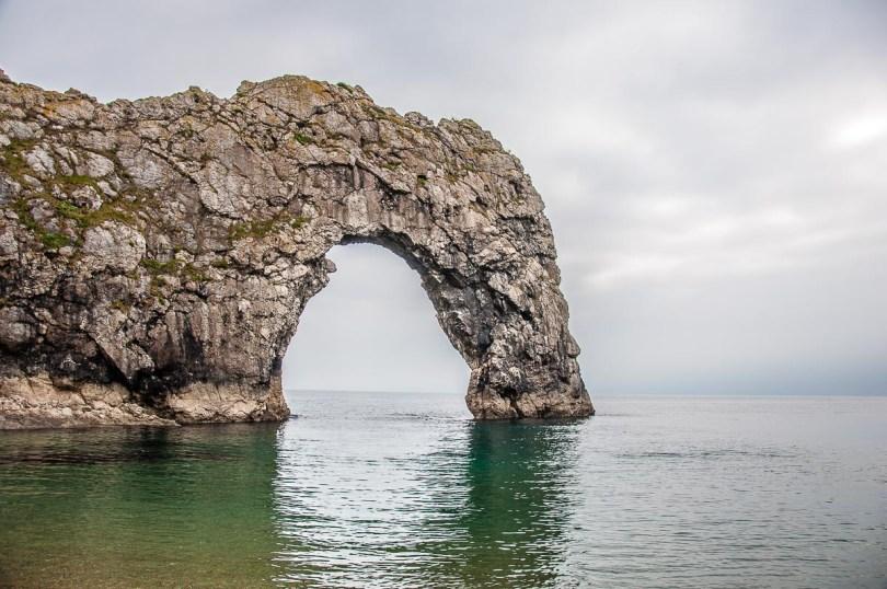 Durdle Door on the Jurassic Coast - Dorset, England - rossiwrites.com
