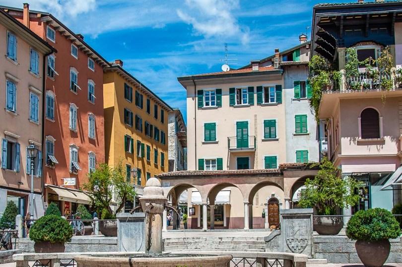 Piazza delle Erbe - Riva del Garda, Italy - rossiwrites.com