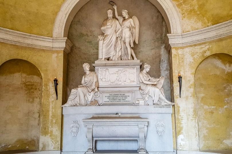 Andrea Palladio's Funerary Monument - Cimitero Maggiore - Vicenza, Italy - rossiwrites.com