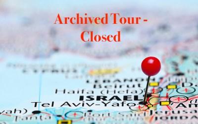 Tabor – Nichols 2018 Holy Land Tour