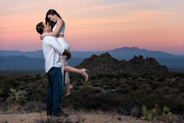 Patrick + Be | Best Phoenix Engagement Photographer