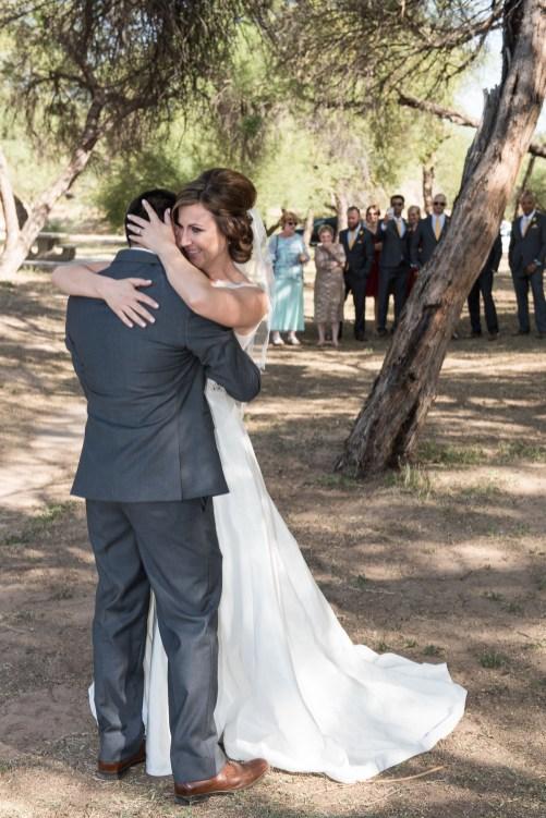 first look Phoenix Arizona wedding