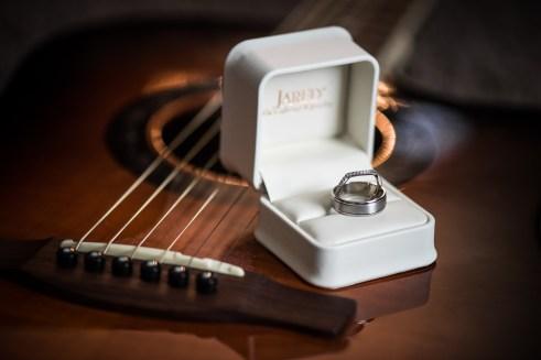 wedding ring detail shot