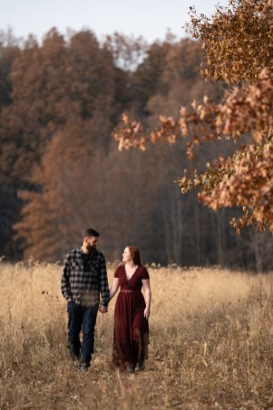 vermilion Ohio fall country engagement