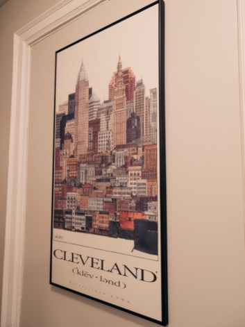 Cleveland Ohio poster