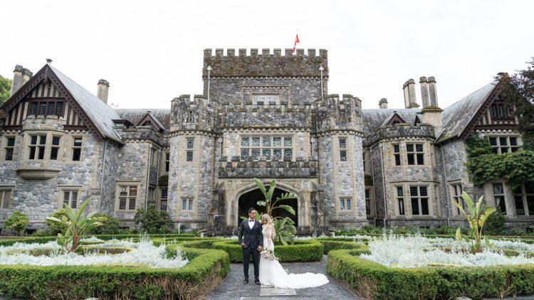 Hatley Castle British Columbia Wedding Photographer