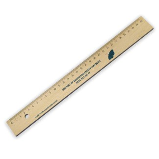 Green & Good Wooden Ruler 30cm - Sustainable