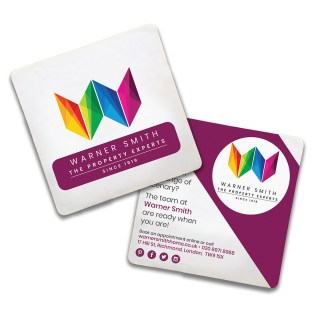 Greyboard Coasters – Doublesided