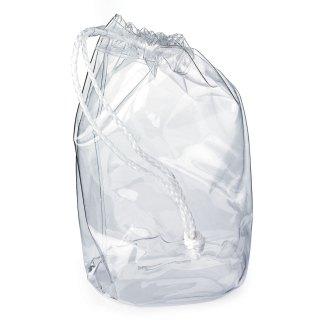 Clear Drawstring PVC Bag