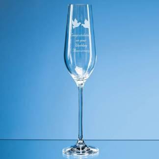 230ml Aura Crystalite Champagne Flute