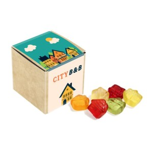 Eco Range – Eco Craft Cube - Kalfany Fruit Gums - 40g
