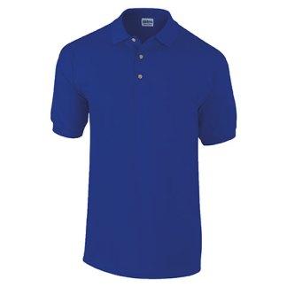 Cotton and poly/cotton polo shirts