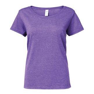 Ladies SoftStyle® Deep Scoop T-Shirt