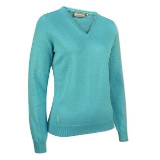 Ladies V Neck Cotton Sweater
