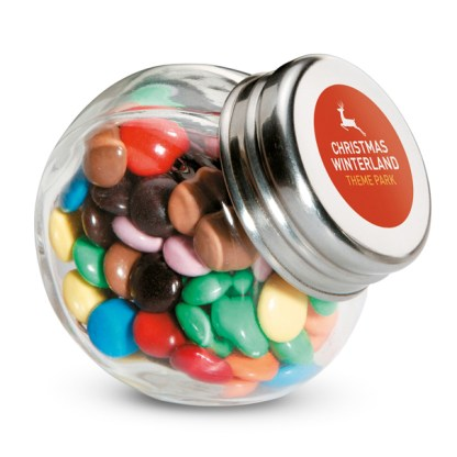 Chocolates in glass holder