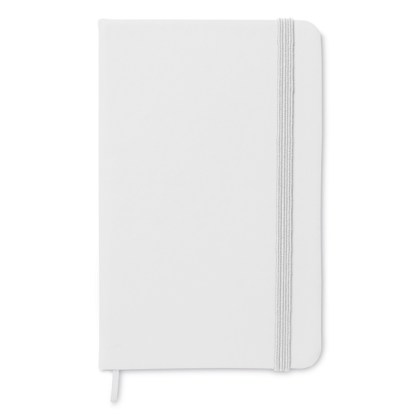 A6 notebook with lined pages