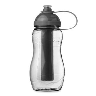 Bottle with freezing tube