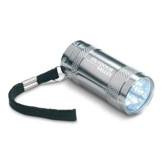 Aluminium torch & wrist strap