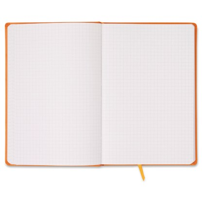 A5 notebook with squared paper