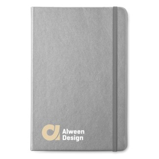 A5 notebook with lined paper