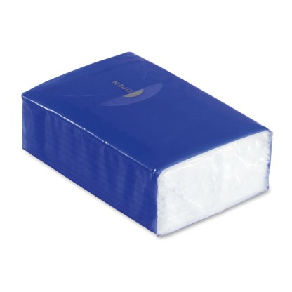 Mini tissues in packet