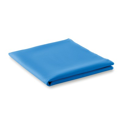 Sports towel with pouch