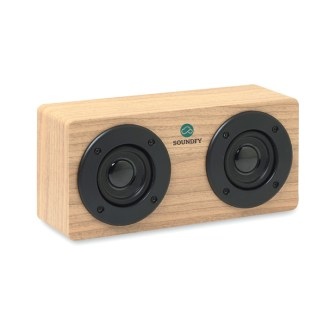 Wood Bluetooth speaker 2x3W 400 mA
