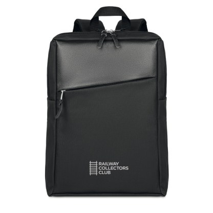 600D 2 tone computer backpack