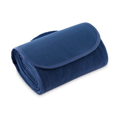 Travel fleece blanket