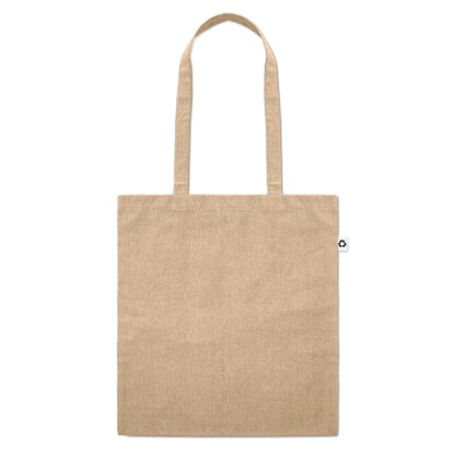 100% recycled cotton shopping bag