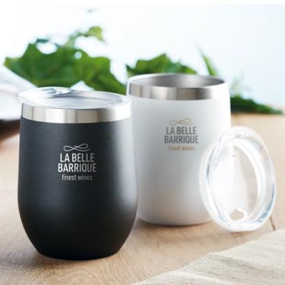 300ml double wall SS mug