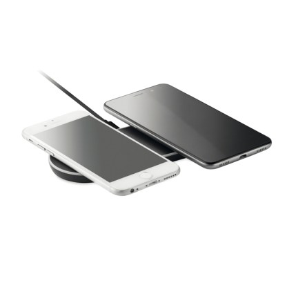 Double wireless charging pad