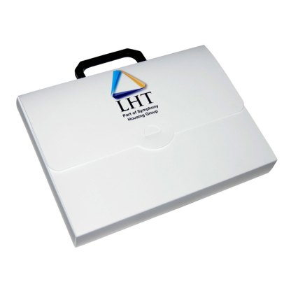 A4 polypropylene carry case
